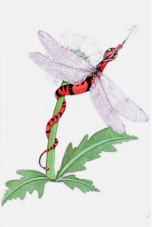 Dandelion Dragonfly