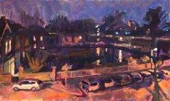 Kew Green, Night Time