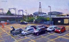 Car Park at Willesden Junction