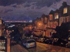 Hillfield Park, N10 Night