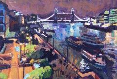 Tower Bridge, Night Impression