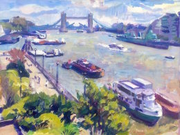 Towards Tower Bridge
