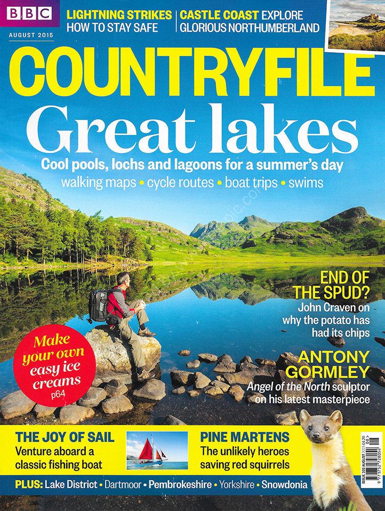 BBC Countryfile magazine August 2015