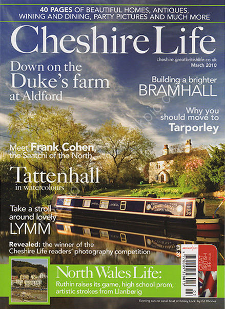 Cheshire Life Magazine March 2010