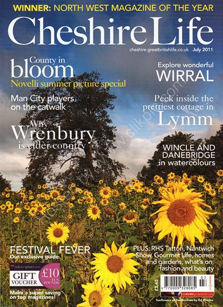 Cheshire Life Magazine July 2011