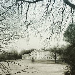 Kenwood House. Graphite 40x50cm Framed £550