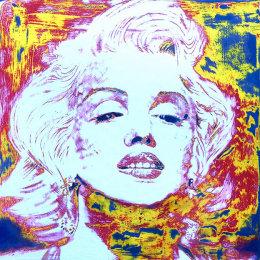 Marilyn 70x70cm Sanded Acrylic