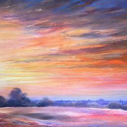 'Good Morning London' oil on canvas 200x90cm £2950