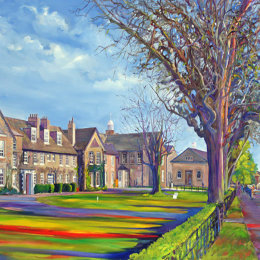 Pocklington School    Framed print 40x80cm   £150