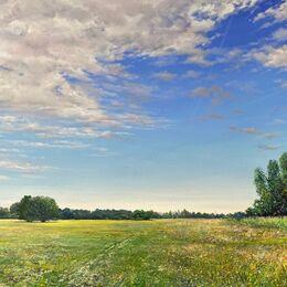 East Heath, Oil on Canvas 113x70cm £2200