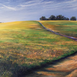 Purple Path 113x70cm