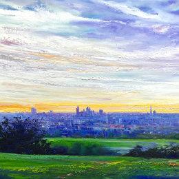 Purple Dawn Oil on Canvas 30x40cm £80 40x50cm £120