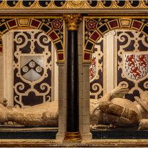 02 Effigies Sir John Gilbert (1596) & Wife Hugh Letheren