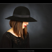 03 Chris Robbins The Girl in the Black Hat(1st Colour Print and OVERALL WINNER) Commended