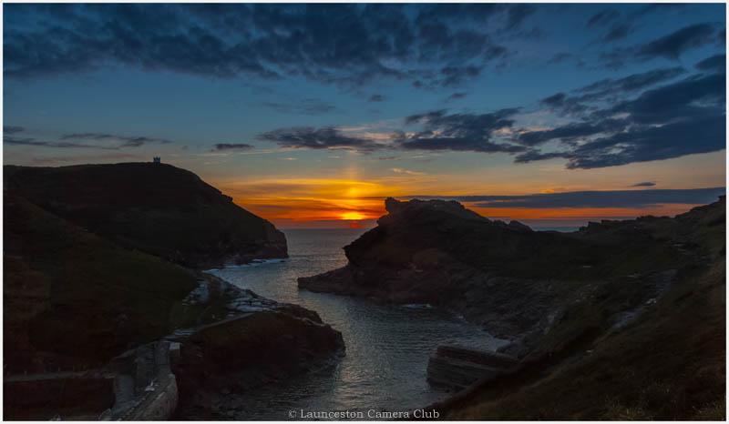07 Boscastle sunset Mike Stickney