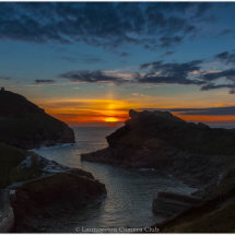 07 Boscastle sunset Mike Stickney