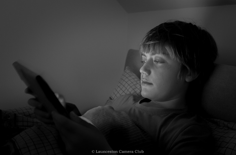 07 Mike Stickney ipad bedtime Highly Commended