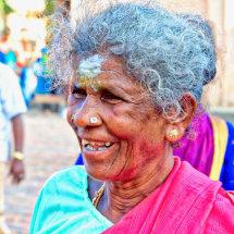 13 Old Lady, Hindu Temple Rob de Glanville