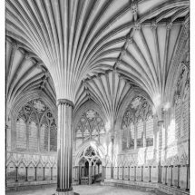 14 Don Easter First Light Wells Cathedral Chapter House