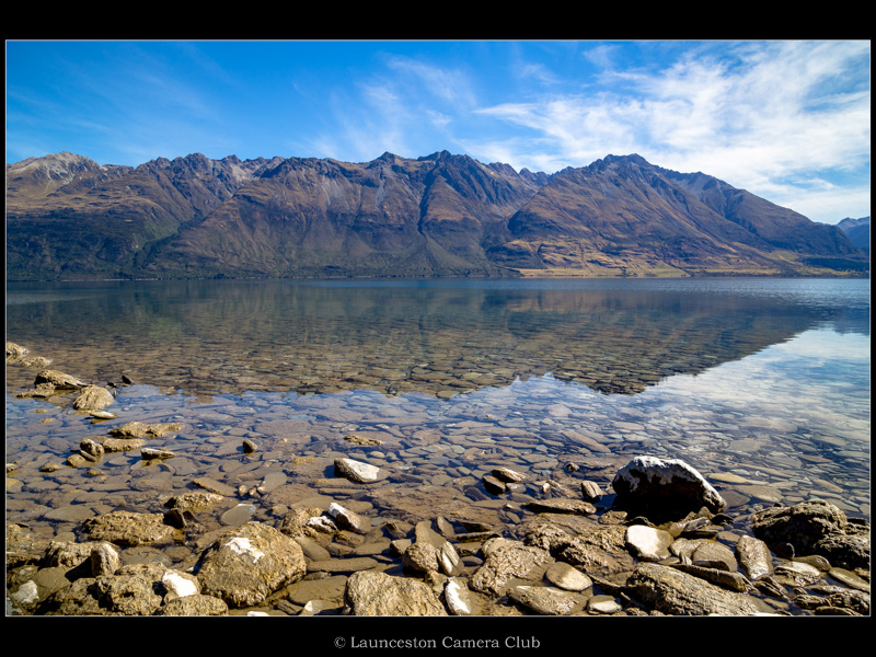 22 Geoff Trevarthen Lake Wakatipu & The Tooth Peaks Commended