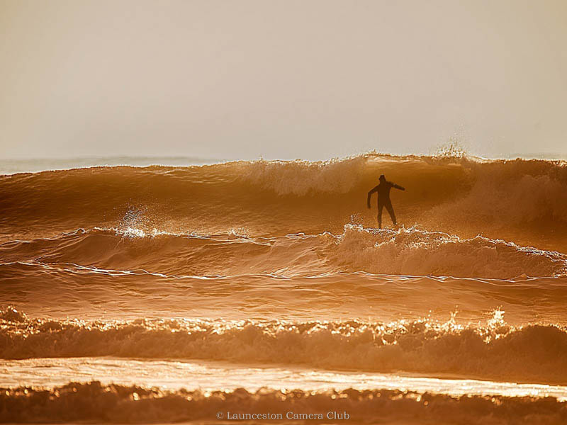 31 Surf and Surfer at Croyd Alan Vanier Highly Commended