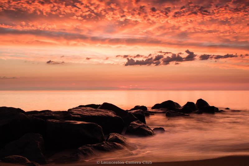 45 Plum Island Sunrise Morag Landers
