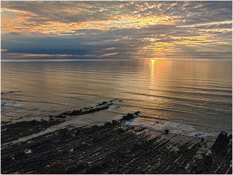 C Mike Pettett Widemouth Sunset 2