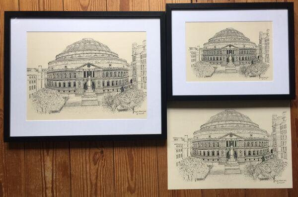 Royal Albert Hall print options