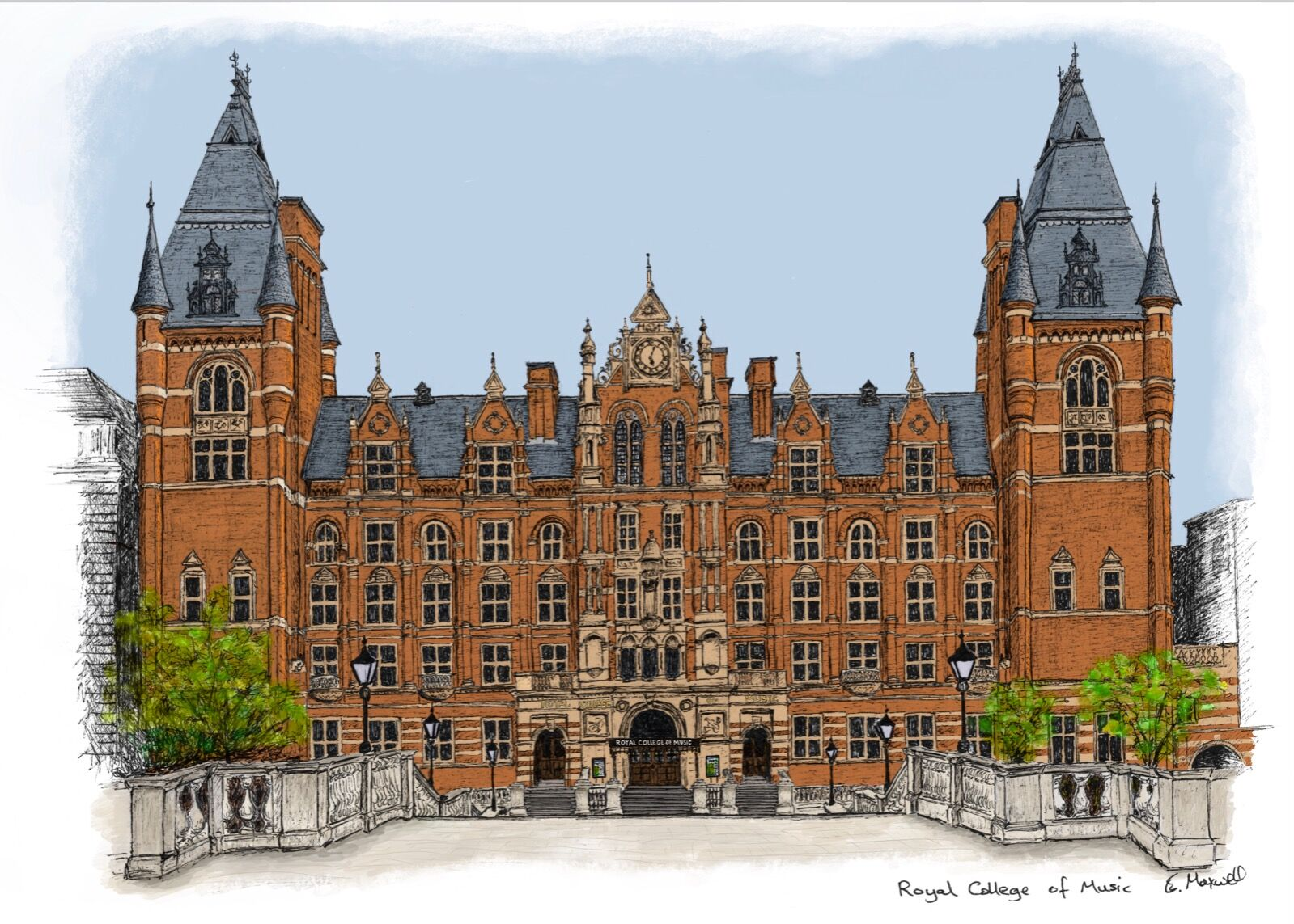 Royal College of Music (colour)