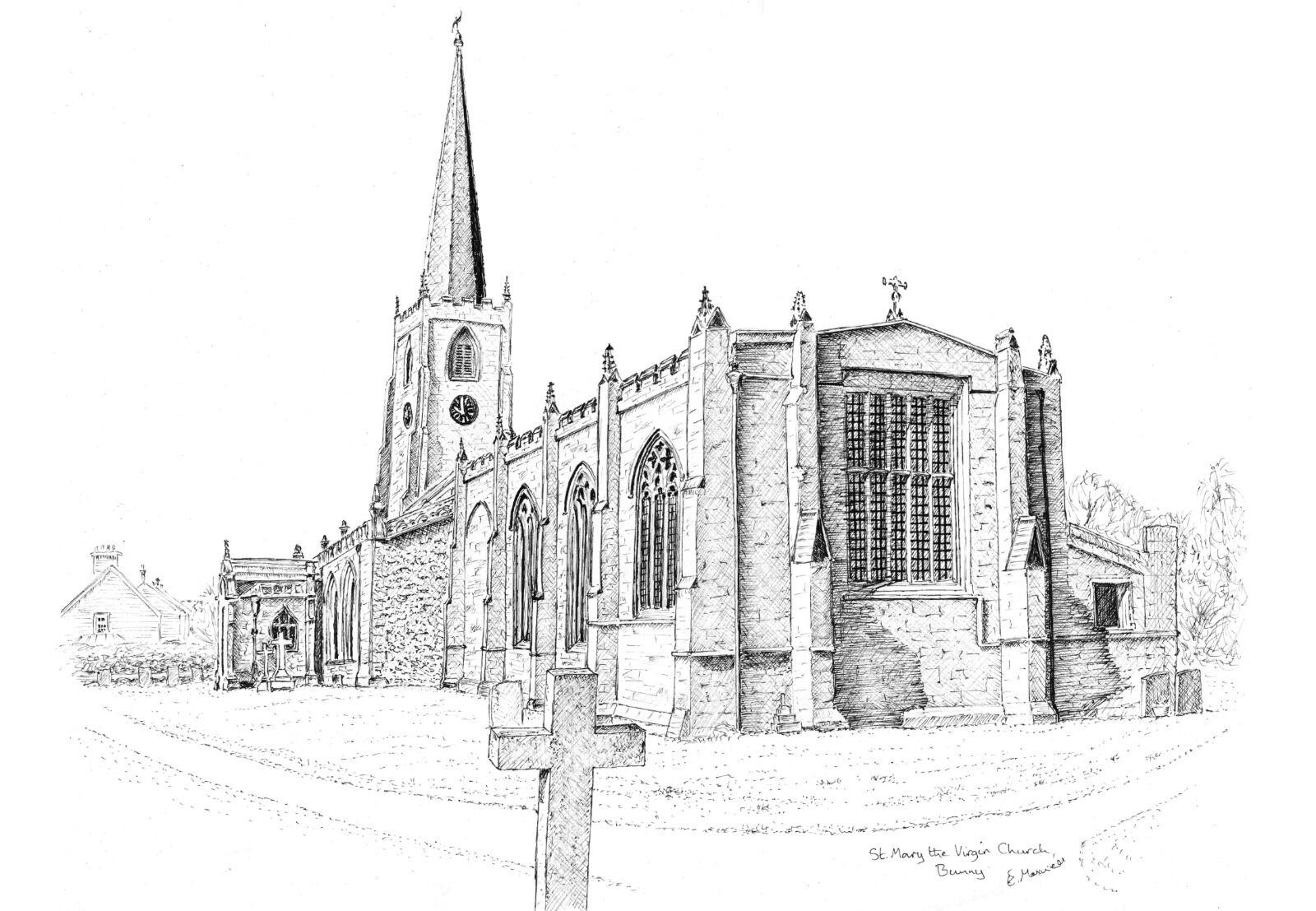 St Mary the Virgin Church, Bunny, Notts
