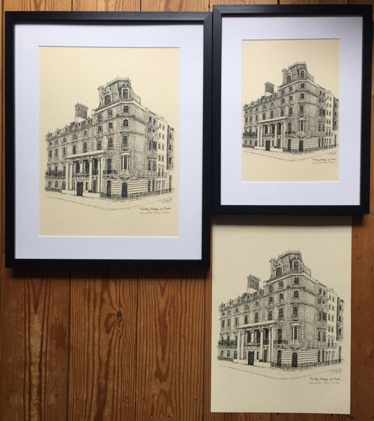 Trinity College (Mandeville Place) print options