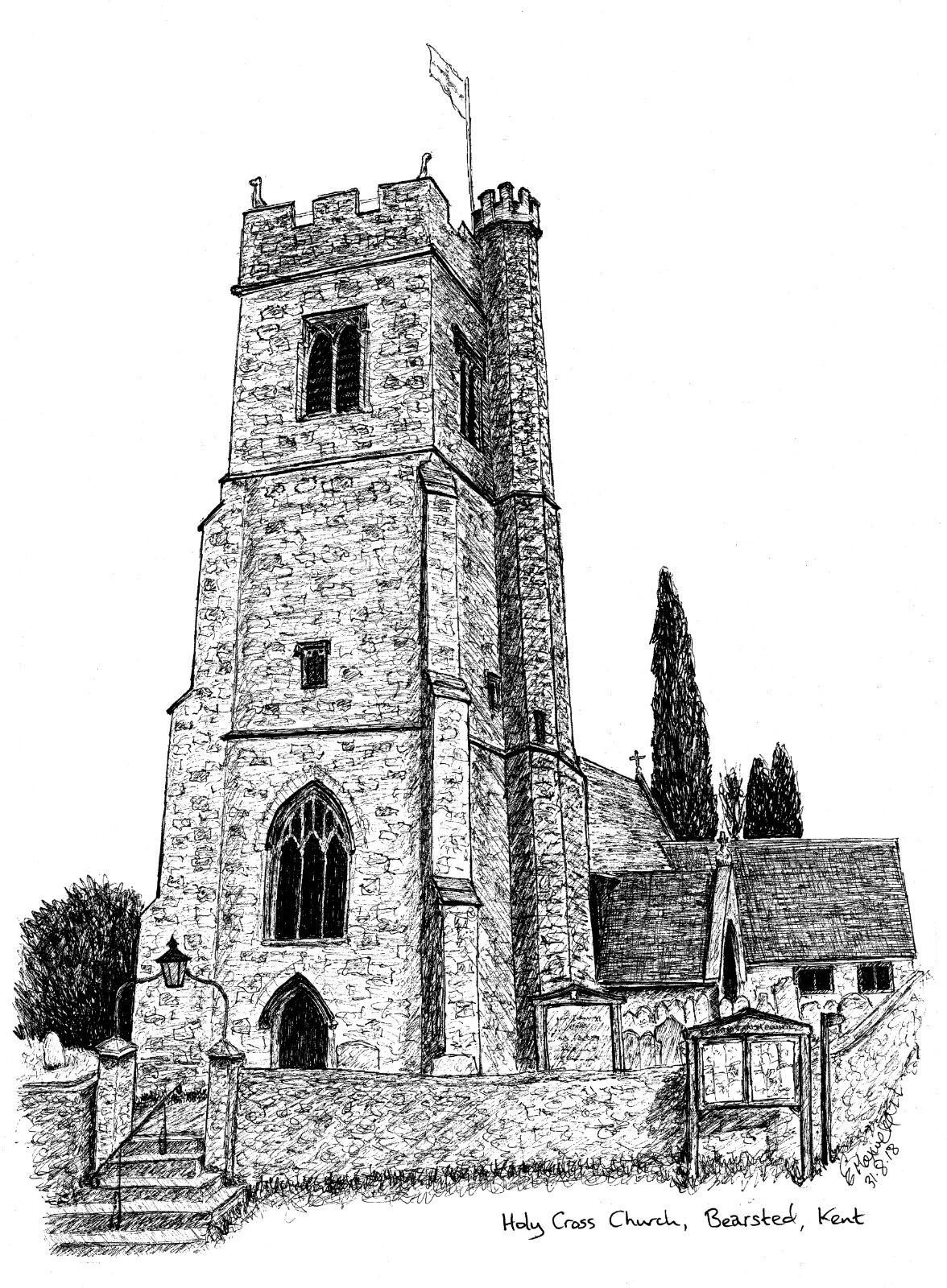 Holy Cross Church, Bearsted