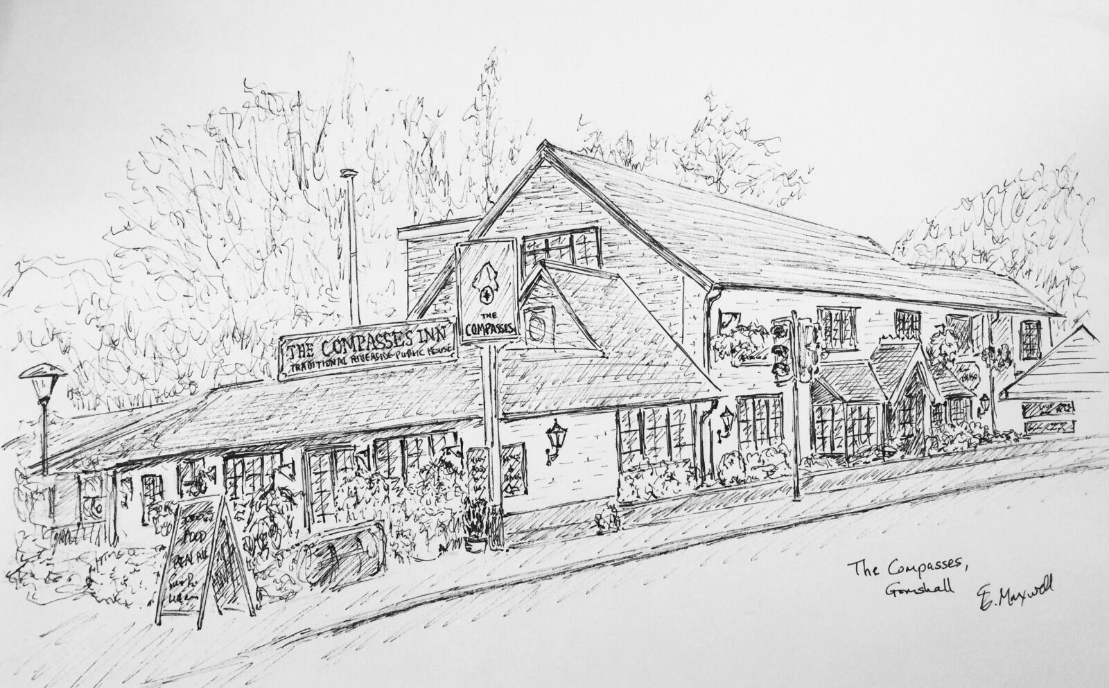 The Compasses, Gomshall, Surrey