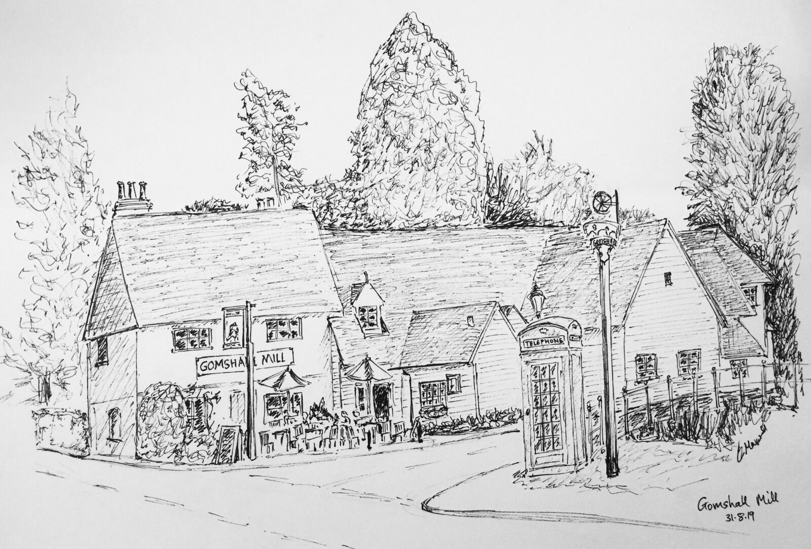 Gomshall Mill, Surrey