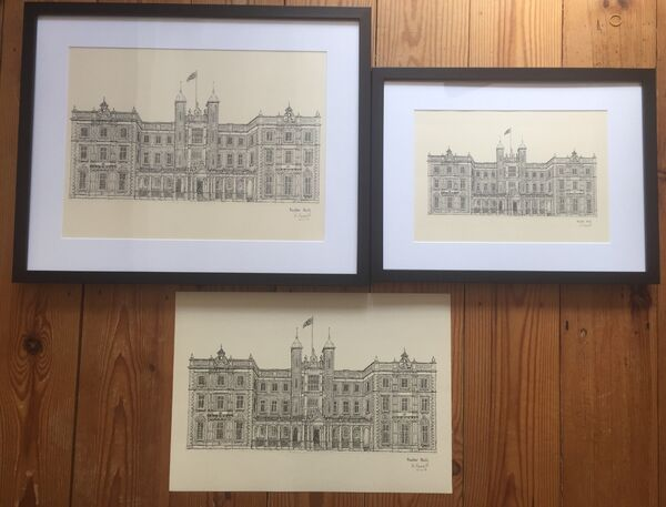 Kneller Hall print options