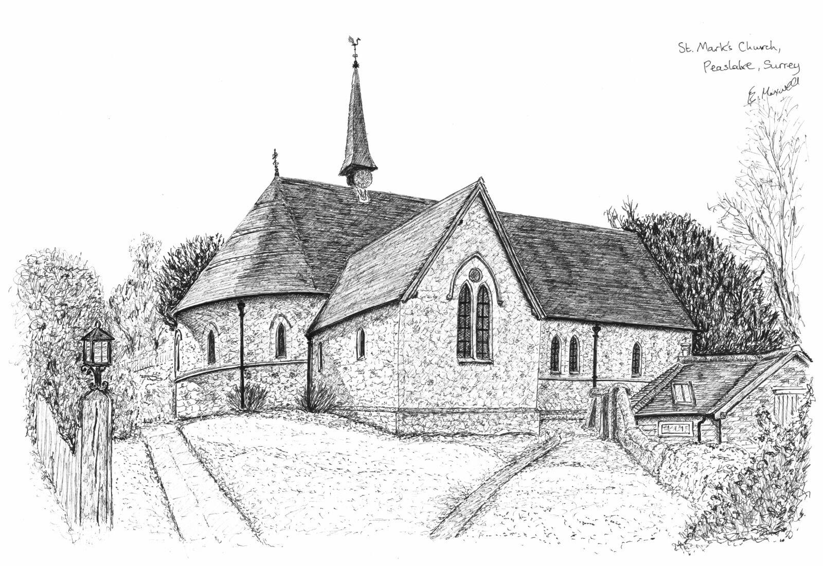 St Mark's Church, Peaslake