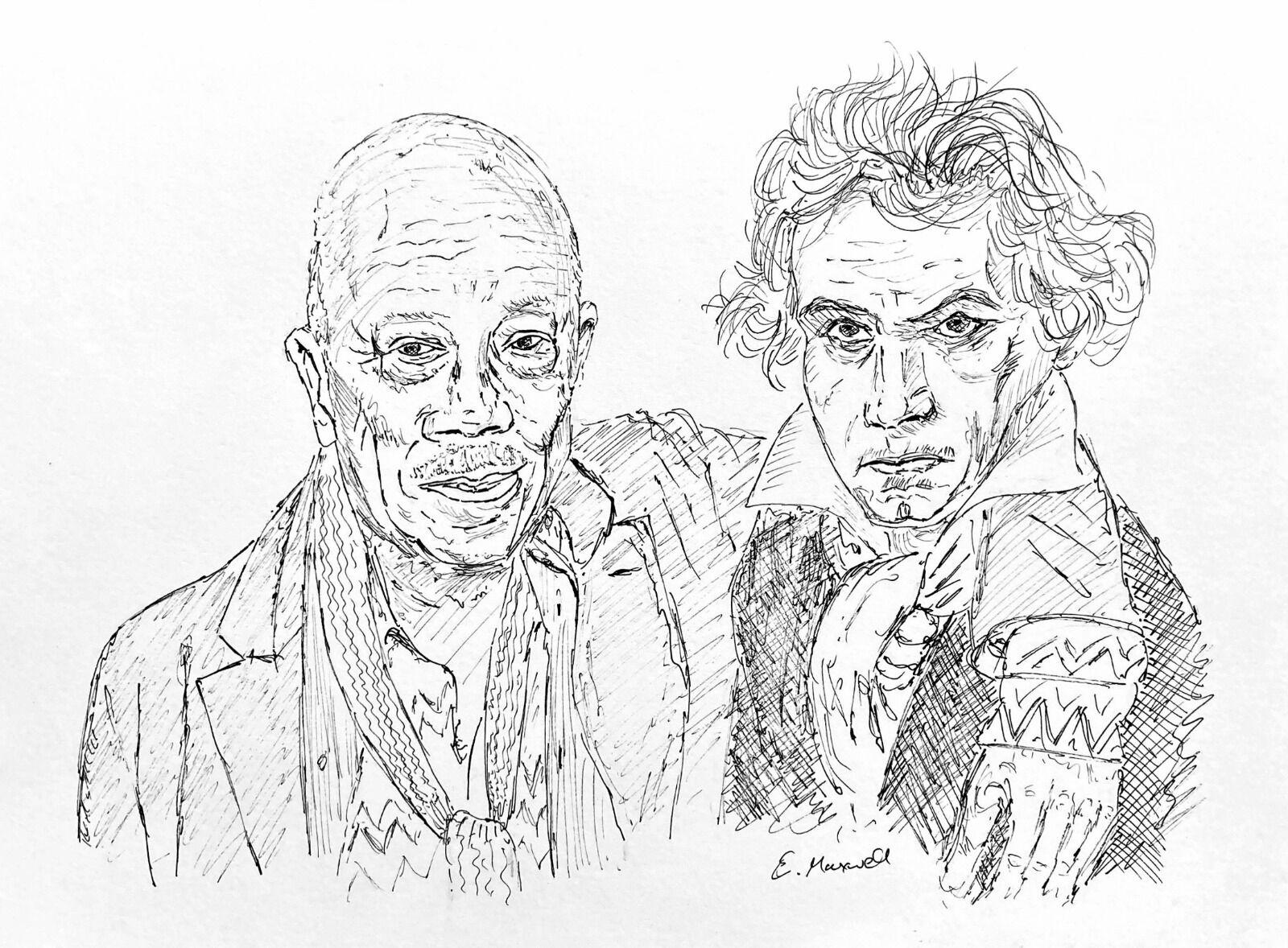 Quincey Jones with Beethoven