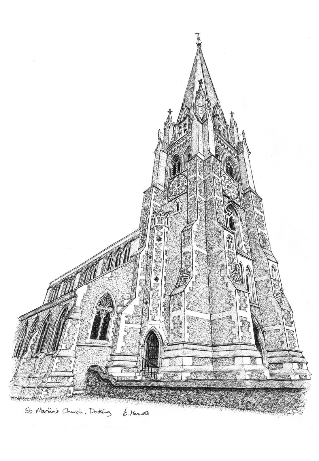 St Martins Church, Dorking