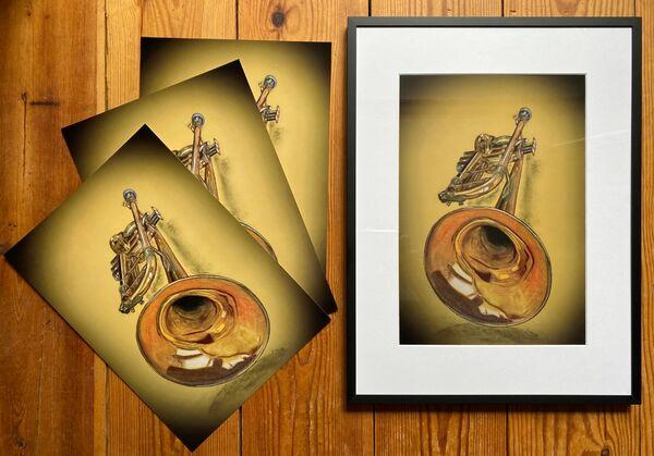 Trumpet Prints