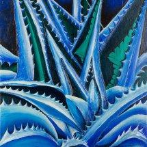Aloe Vera 50x50 Acrylic