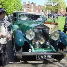 Christchurch Mansion Ipswich 33rd Classic Vehicle Rally