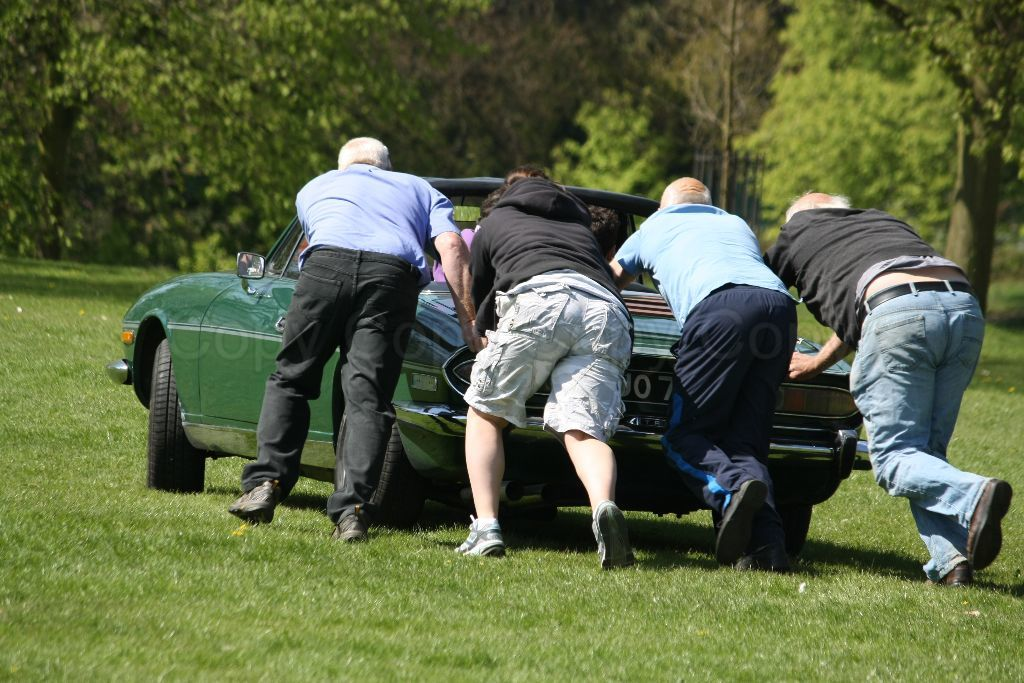 Christchurch Park Ipswich 33rd Classic Vehicle Rally