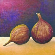 Figs 30x30 Oil on canvas