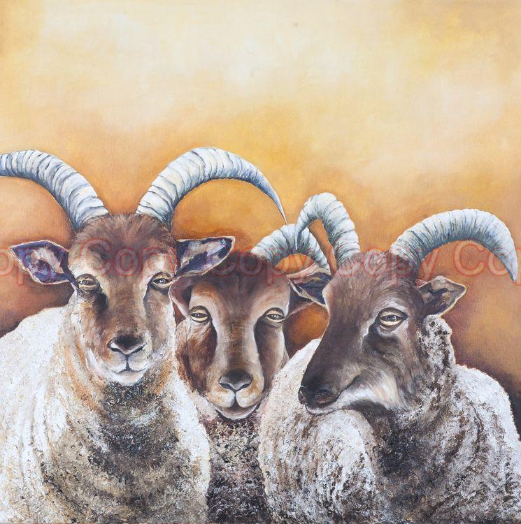 Trinity 60x60 Oil on canvas