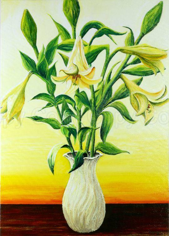 Lillies 50x70 Acrylic