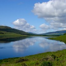 Loch Maree Wester Ross North West Highlands Scotland