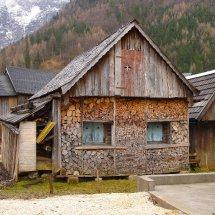 Log cabin Hallstatt Austria