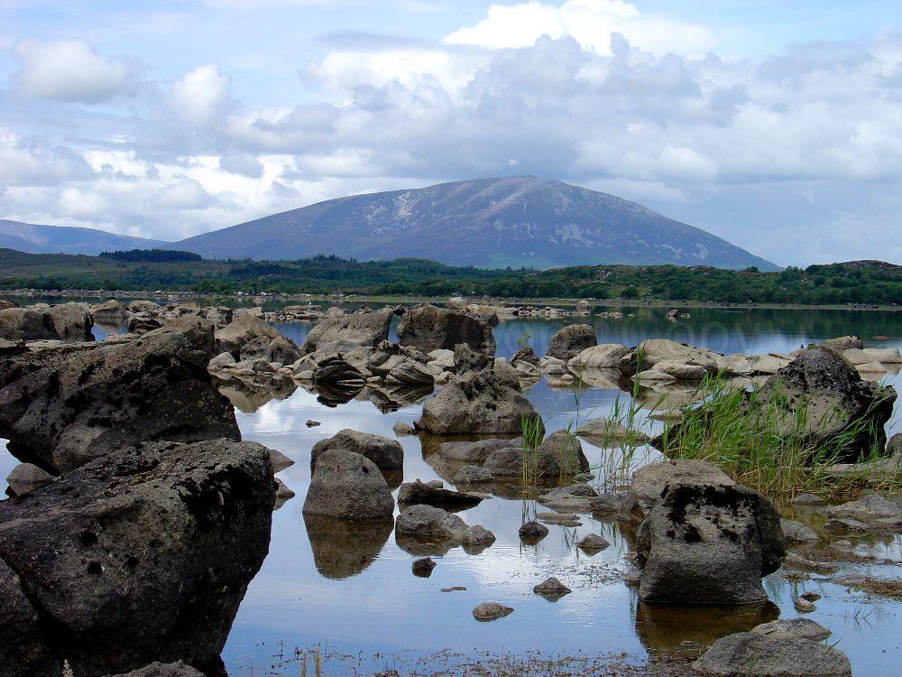 Lough Cullin Nephin Range County Mayo Ireland