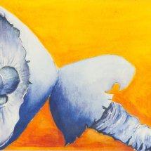 Mushrooms with attitude 36x43 Watercolour