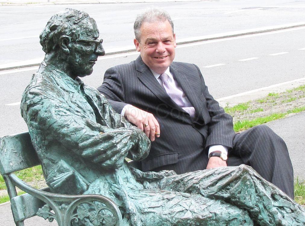 Patrick Kavanagh Statue Dublin